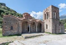 Mystras Agia Sophia klasztor Zdjęcie Stock