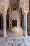 Mystras Agia Sophia klasztor Zdjęcia Royalty Free