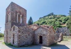 Mystras Agia Sophia klasztor Obrazy Royalty Free