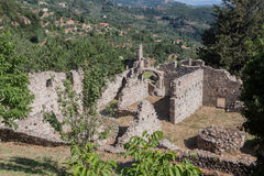Mystras Byzantine Convent Royalty Free Stock Photography