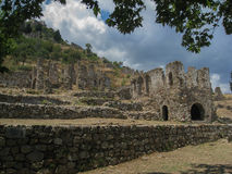 Mystras Castle Royalty Free Stock Images
