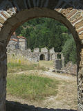 Mystras Convent Royalty Free Stock Photography