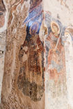Mystras Convent Ruins Greece Frescoe Stock Photos