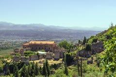 Mystras, Grecia Fotografía de archivo