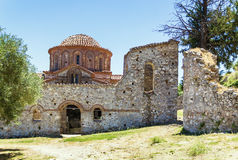 Mystras, Grecja Zdjęcia Royalty Free