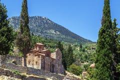 Mystras, Grecja Obraz Royalty Free