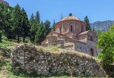 Mystras, Grecja Fotografia Stock