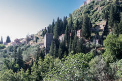 Mystras Greece Stock Photography