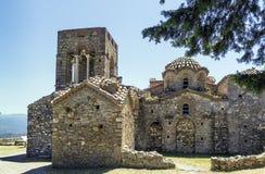 Mystras, Greece Royalty Free Stock Photos