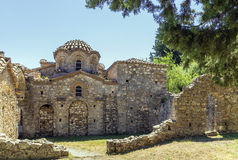 Mystras, Greece Royalty Free Stock Image