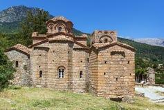Mystras, Greece. Church Of Agia Sofia in Mystras, Greece Stock Photo