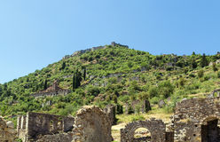 Mystras, Greece Stock Photography
