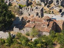 Mystras Stock Images