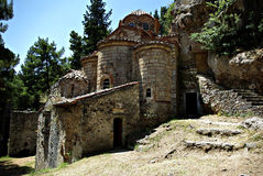 Mystras Landscape Royalty Free Stock Photo