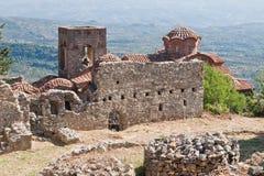 Mystras Landscape Stock Images