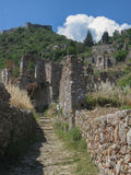 Mystras Landscape Royalty Free Stock Photos