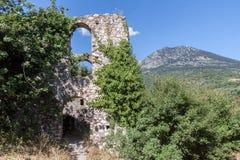Mystras Landscape Royalty Free Stock Images