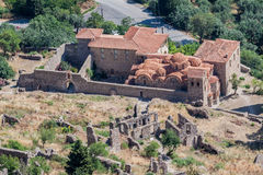 Mystras Landscape Royalty Free Stock Images