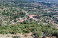Mystras Landscape Stock Photography