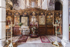 Mystras Byzantine Church Royalty Free Stock Photo