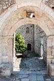 Mystras rovina la Grecia Fotografie Stock
