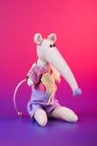 mysz śliczny długi nos zdjęcia stock
