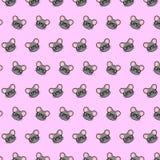 Mysz - emoji wzór 78 ilustracja wektor