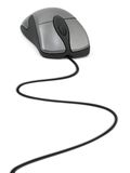 mysz komputerowa kablową Zdjęcia Royalty Free