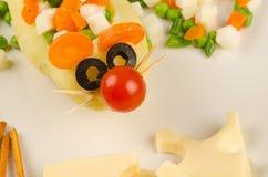 Mysz lunch Zdjęcie Stock