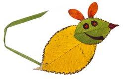 Mysz od jesień liści Obrazy Stock