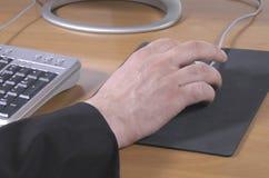 mysz ręce zdjęcia royalty free