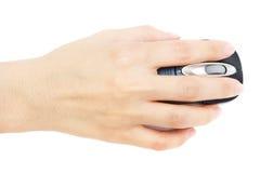 mysz ręce Zdjęcia Stock
