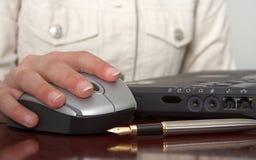 mysz ręce Zdjęcie Stock