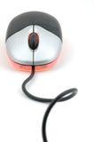 mysz rozjarzona optycznej Obrazy Royalty Free