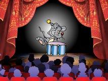 mysz występ Zdjęcia Stock