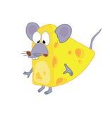 mysz z serem Zdjęcie Royalty Free