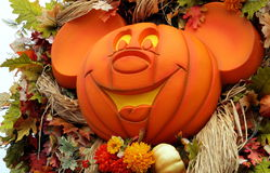 Myszka Miki Halloween Zdjęcia Royalty Free