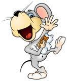 myszy domycie ilustracja wektor