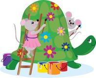 myszy jeździć wałków Obrazy Royalty Free