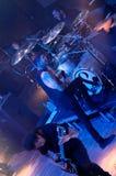 Myszy & mężczyzna porozumiewa się Lucernę Musicbar Praha Zdjęcie Royalty Free