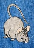 Myszy obwąchanie fotografia stock