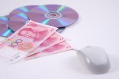 Myszy rmb dvd i Zdjęcia Stock