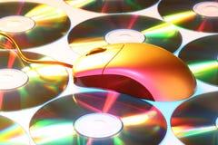 myszy tęcza kolorów Zdjęcia Stock