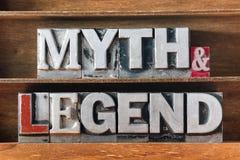 Myt och legend royaltyfria bilder