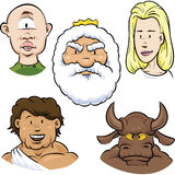 Myth Characters Royalty Free Stock Images