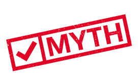 Myth rubber stamp Royalty Free Stock Image