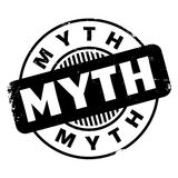 Myth rubber stamp Royalty Free Stock Photography