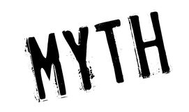Myth rubber stamp Stock Photo