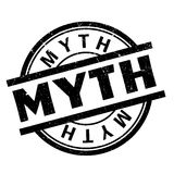 Myth rubber stamp Royalty Free Stock Images