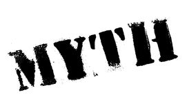 Myth rubber stamp Stock Photos